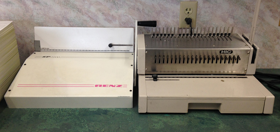 Comb & Wire Binding
